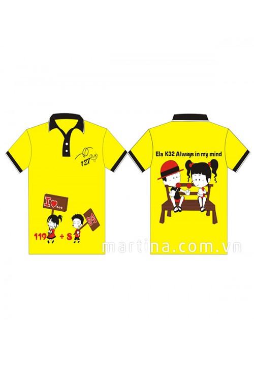 Đồng phục áo phông nhóm - lớp LH26