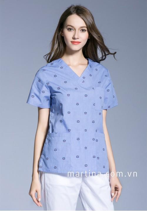 Đồng phục áo bệnh nhân LH19