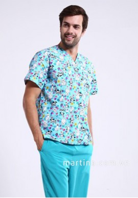 Đồng phục áo bệnh nhân LH23