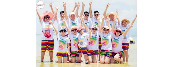 Địa chỉ bán áo phông đồng phục đi biển cho teamgiá rẻ tại Hà Nội