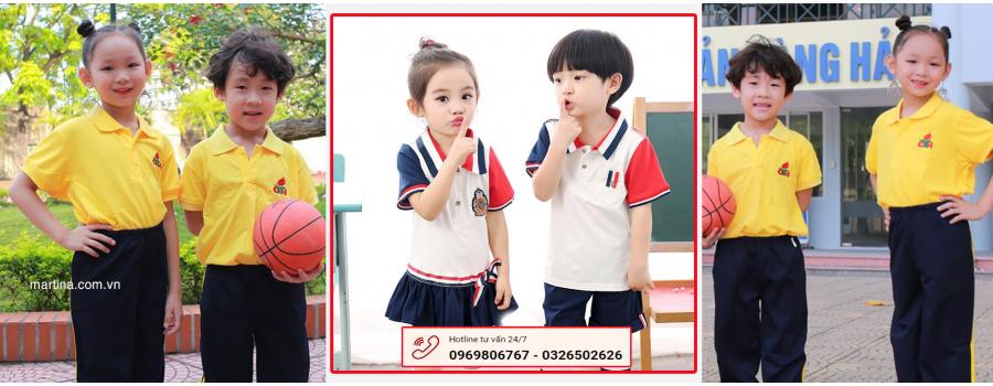 TOP mẫu áo phông đồng phục lớp đẹp nhất cho học sinh tiểu học 2021