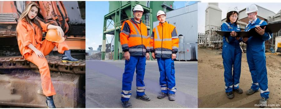 Đồ bảo hộ công trường- May áo công trường bảo hộ lao động chất lượng cao, giá tốt cuối năm