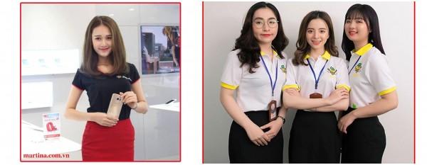 Mẫu áo đồng phục nữ đẹp 2021- May áo phông đồng phục nữ MIỄN PHÍ THIẾT KẾ 100%