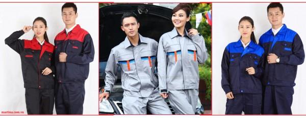 Địa chỉ may đồng phục công nhân tại Hà Nội giá rẻ- Mẫu áo công nhân đẹp nhất