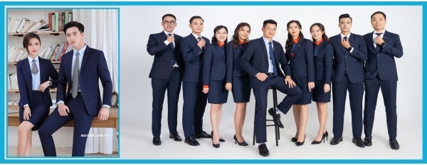 Mẫu đồng phục công sở đẹp 2021- May quần áo đồng phục công sở